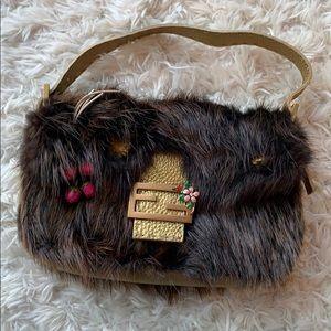 a808954b3f Fendi Bags - Fendi Fur Baguette
